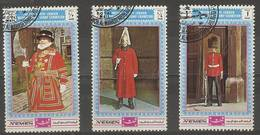 Yemen (Kingdom)  - 1970 London Stamp Exhibition (Guards) CTO - Yemen