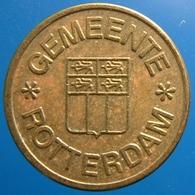 KB166-1 - GEMEENTE ROTTERDAM - Rotterdam - B 20.0mm - Koffie Machine Penning - Coffee Machine Token - Firma's