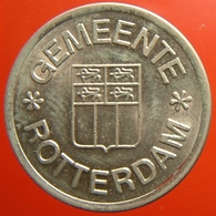 KB166-2 - GEMEENTE ROTTERDAM - Rotterdam - WM 22.5mm - Koffie Machine Penning - Coffee Machine Token - Firma's