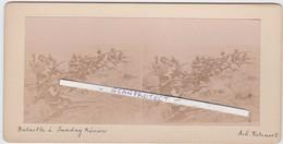 ORIGINALE-PHOTO-STEREO-1900-SOUTH-AFRICA-BOER-WAR-BATTLE-SUNDAY RIV-HISTORICAL-PHOTO BY ACHILLE ROTSAERT-VINTAGE-TOP ! ! - Afrique Du Sud