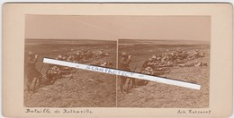 ORIGINALE-PHOTO-STEREO-1900-SOUTH-AFRICA-BOER-WAR-BATTLE-BOTHAVILLE-HISTORICAL-PHOTO BY ACHILLE ROTSAERT-VINTAGE-TOP ! ! - Afrique Du Sud