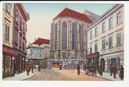 Villach - Hauptplatz Mit Der Stadtpfarrkirche - Villach