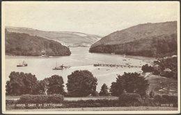 River Dart At Dittisham, Devon, 1936 - Valentine's Postcard - England