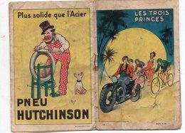 Livret LES TROIS PRINCES (vélo / Moto) E  Offert Par  PNEU HUTCHINSON   (PPP17610) - Other