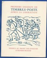 Entier   Timbres Poste Après La Libération  Affranchissement Multiple  Oblitération:    Luxembourg 6 -1-1944 - Luxembourg