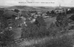BLIGNY SUR OUCHE - 21 - Entrée Route De Beaune - 70575 - Autres Communes