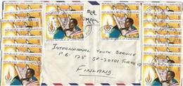 Cameroon Cameroun 1980 Bamenda Human Rights Declaration Droit De L'homme Cover - Kameroen (1960-...)