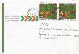 Cameroon Cameroun 1980 Bamenda Spice Pepper Piper Capense Cover - Kameroen (1960-...)