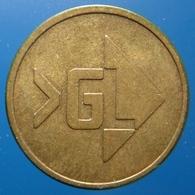 KB170-1a - >GL VAN GEND EN LOOS - 0 O'clock - B 20.0mm - Koffie Machine Penning - Coffee Machine Token - Professionnels/De Société