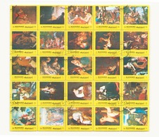 Arabie Manama 1972, Feuille Peintures - Timbres