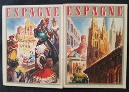 FASCICULE TOURISTIQUE Sur ESPAGNE - Nbreuses Illustrations Signées - Publication Office Nat Espagnol - Tourism Brochures