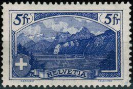 Schweiz Suisse 1914: Rütli 5fr (K.Burkhard) Zu 130 Mi 122x Yv 143 * Falzspur - Trace De Charnière  (Zu CHF 130.00 - 50%) - Ungebraucht