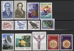 Island 1981 - In Den Hauptnummern Kompletter Jahrgang - ** - MNH - 1944-... Republik