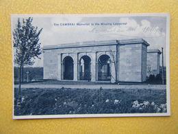 DOIGNIES. Le Mémorial Des Disparus De Louverval. - Otros Municipios