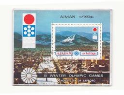 Arabie Ajman , 1972, BF Sapporo - Timbres