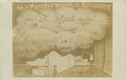 """""""MARINES DREAM OF EFFICIENCY"""" By PORTSEA PUBLISHER - POSTED 1909 #90764 - Humoristiques"""