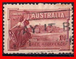 AUSTRALIA (OCEANIA)  SELLO AÑO 1927 APERTURA DEL PARLAMENTO DE CANBERRA. - 1913-36 George V : Other Issues