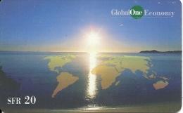 Prepaid: GlobalOne - Sunrise 12.99 - Schweiz
