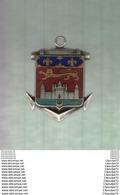 INSIGNE   DU  BORDELAIS   EN  1939-1942  ---- ARTHUS BERTRAND PARIS DEPOSE  21X27 ----------------------- - Marine