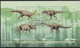 2008  Allem. Fed. Deutschland   Mi Bl. 73 FD-used  Berlin  Dinosaurier - Blokken