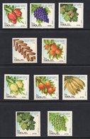 Yemen 1967 Fruits Stamp Set. Unmounted Mint. - Yemen