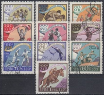URSS / RUSIA 1960 Nº 2310/2319 USADO - 1923-1991 URSS