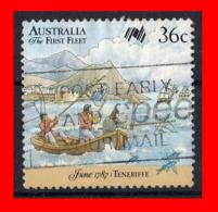 AUSTRALIA (OCEANIA)  SELLO AÑO 1986 1987 II CENTENARIO DE LA COLONIZACIÓN DE AUSTRALIA. - 1980-89 Elizabeth II