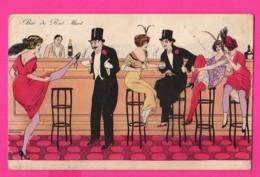 CPA (Ref: Z 1259) (Illustrateurs & Photographes Xavier Sager) Bar Du Rat Mort Jolies Femmes Prostituées - Sager, Xavier