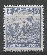 Hungary 1920. Scott #339 (M) Harvesting Wheat * - Neufs