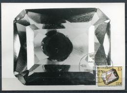 """DDR 1975seltene Photo Maximumkarte Mi.Nr.2007 MK""""Minerale Aus Der Bergakademie-Rauchharz""""mit SST""""Berlin"""" 1 MC - Mineralien"""
