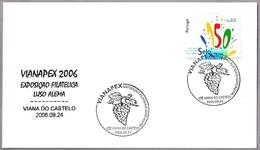 Exposicion Portugal-Alemania. UVAS - GRAPES. Viana Do Castelo 2006 - Frutas