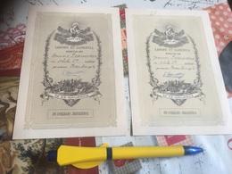 1904 - Optime - Labore Et Sapientia Meritus Es - 2 Diplômes - Diplômes & Bulletins Scolaires
