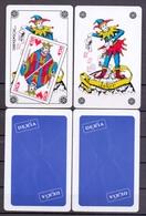 Belgie - Speelkaarten - ** 2 Jokers - Dexia - Rugzijde Zandloper - Cartes à Jouer Classiques