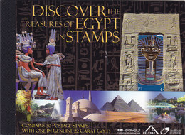 Egypt 2004, BOOKLET Treasure Of Egypt,in 5 Scans- MNH Complete 30 Stamps MNH- RARE- High Values - Red. Price - SKRILL - Unused Stamps