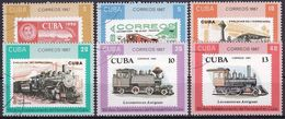 1987 Mi-Nr. 3142/47 O Used - Used Stamps