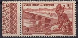 AOF  N** 25  MNH - A.O.F. (1934-1959)