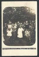"""+++ CPA - Photo Carte - Foto Kaart - L'Entente Cordiale """" à PRESLES - Juin 1924  // - Aiseau-Presles"""
