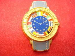 MONTRE EUROPE ARTHUS BERTRAND Pin's Double Moule - Arthus Bertrand