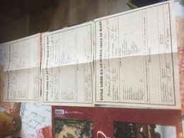 LE MANS - 1898(x2) -1899 école Libre ND De Sainte Croix Le Mans 3 Bulletins - Diplômes & Bulletins Scolaires