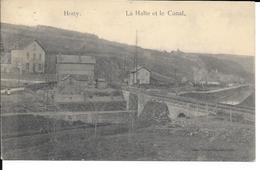 Hony - Esneux - La Halte Et Le Canal  - Ed: Dumoulin-Launois - Circulé - Voir 2 Scans - Esneux