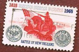 STATI UNITI (U.S.A.) - SG 1243 - 1965   150^ ANNIVERSARY  OF NEW ORLEANS BATTLE            - USED° - Usati