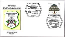 120 Años CLUB DE TIRO - 120 Years SHOOTING CLUB. Zella-Mehlis 2011 - Tiro (armas)
