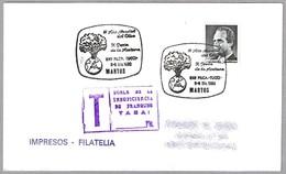 III AÑO MUNDIAL DEL OLIVO - X FIESTA DE LA ACEITUNA - OLIVE. Martos, Andalucia, 1990 - Árboles