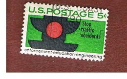 STATI UNITI (U.S.A.) - SG 1254 - 1965 TRAFFIC SAFETY    - USED° - Usati