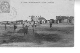 SAINT JEAN DE MONTS La Plage à Marée  Basse - Saint Jean De Monts