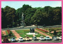 Calais - Bourgeois Par RODIN - Parc Saint Pierre - Hôtel De Ville - Vieilles Voitures - 2 CV - Renault 4L - ESTEL - 1979 - Calais