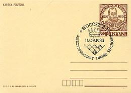 POLONIA POLSKA - BYDGOSZCZ 1983 - SZACHOWY - TORNEO DI SCACCHI -  CHESS - Scacchi