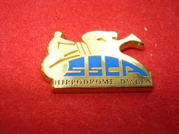 CHEVAUX SSCA HIPPODROME AGEN Pin's ARTHUS BERTRAND - Arthus Bertrand