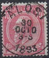 N° 46 Oblitération ALOST - 1884-1891 Leopold II