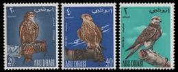 Abu Dhabi 1965 - Mi-Nr. 12-14 ** - MNH - Vögel / Birds - Abu Dhabi